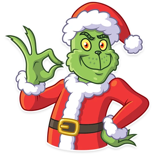 Grinch - Sticker 10