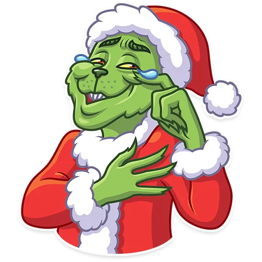 Grinch - Tray Sticker