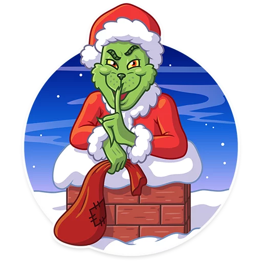 Grinch - Sticker 11