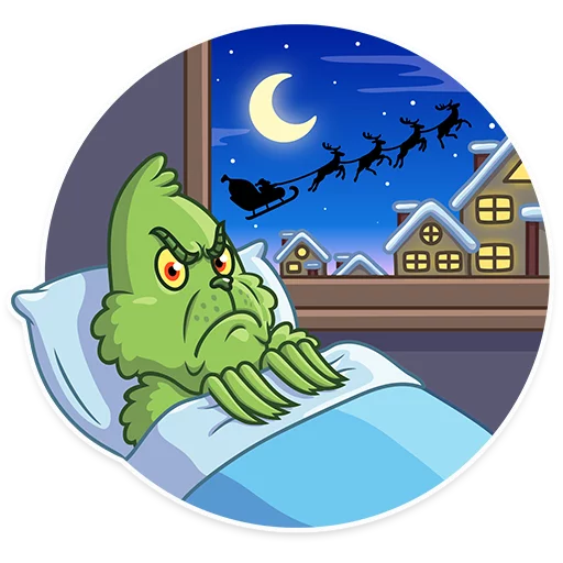 Grinch - Sticker 13
