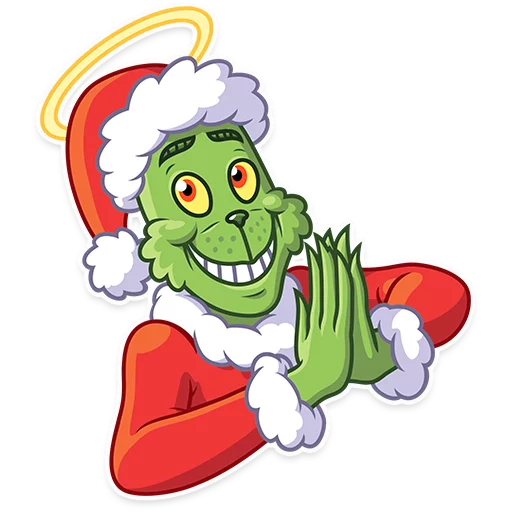 Grinch - Sticker 21