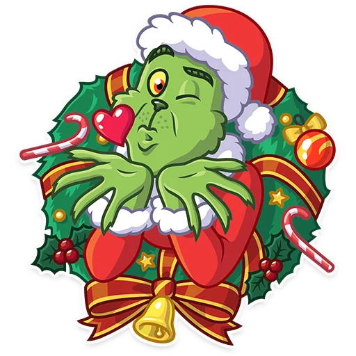Grinch - Sticker 2