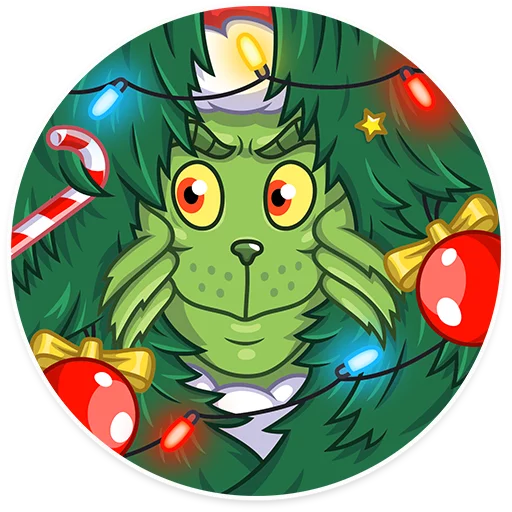 Grinch - Sticker 15