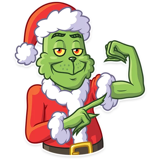 Grinch - Sticker 20