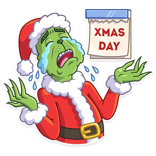 Grinch - Sticker 14
