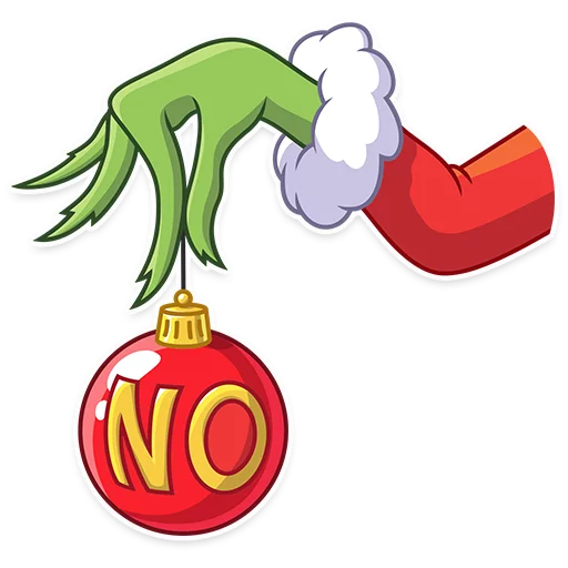 Grinch - Sticker 8