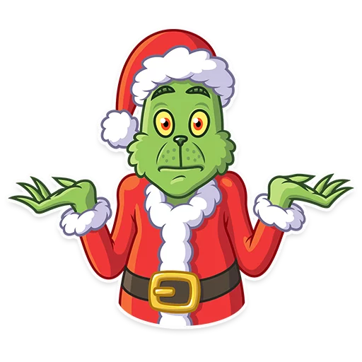 Grinch - Sticker 12