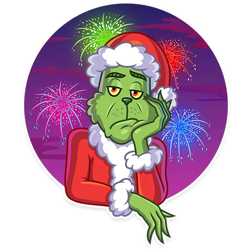 Grinch - Sticker 16