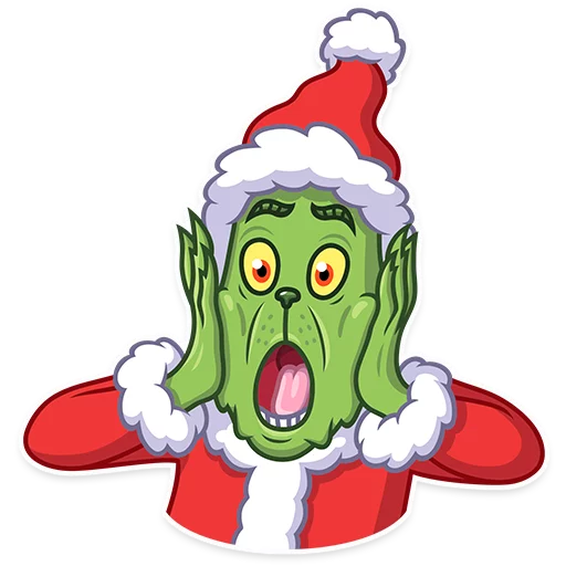 Grinch - Sticker 4