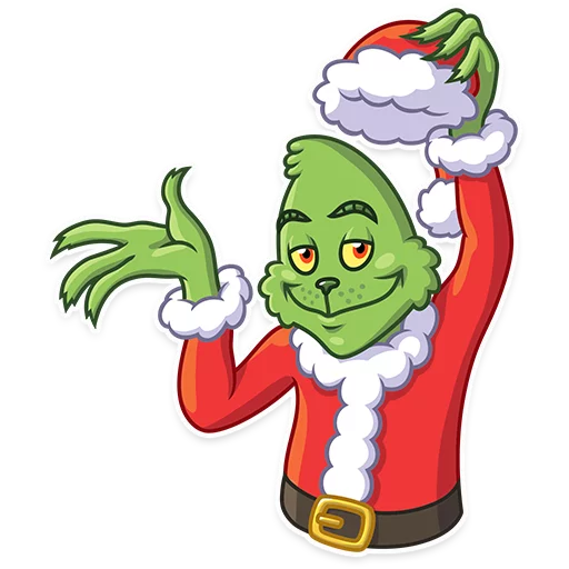 Grinch - Sticker 5