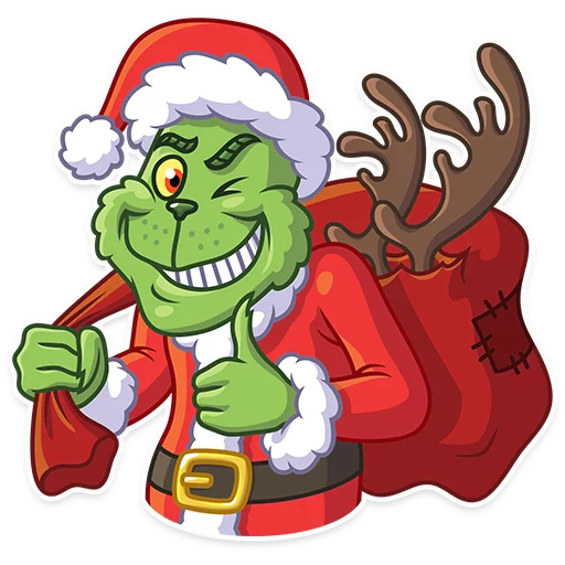 Grinch - Sticker 3