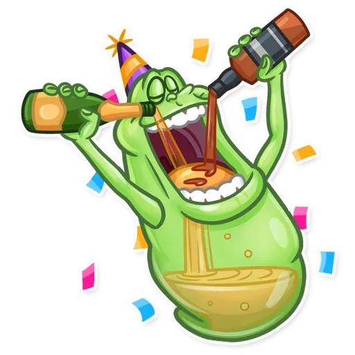 Slimer - Sticker 16