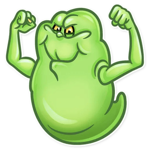 Slimer - Sticker 21