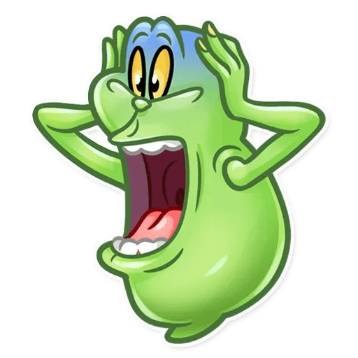 Slimer - Sticker 4