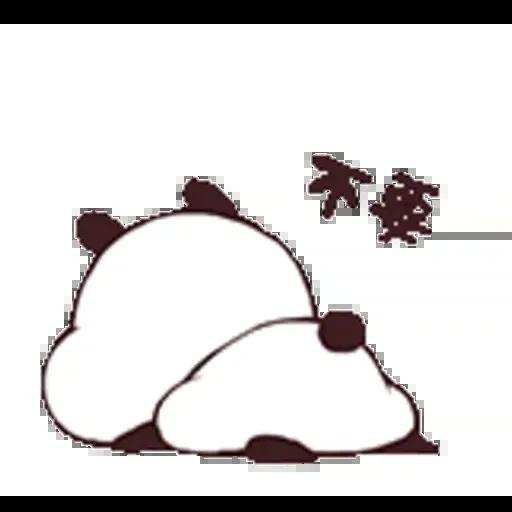 Pandaaaa - Sticker 2