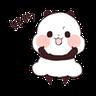 Pandaaaa - Tray Sticker