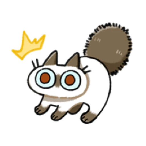 Siamese Cat1 - Sticker 9