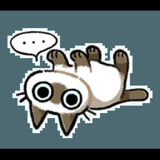 Siamese Cat1 - Sticker 17
