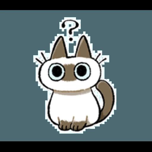 Siamese Cat1 - Sticker 20