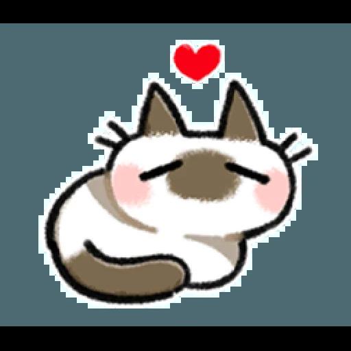 Siamese Cat1 - Sticker 16