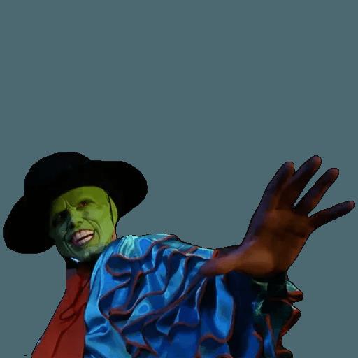 The Mask - Sticker 7
