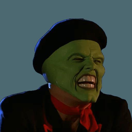 The Mask - Sticker 2