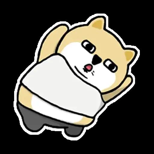 小肥柴 - Sticker 4