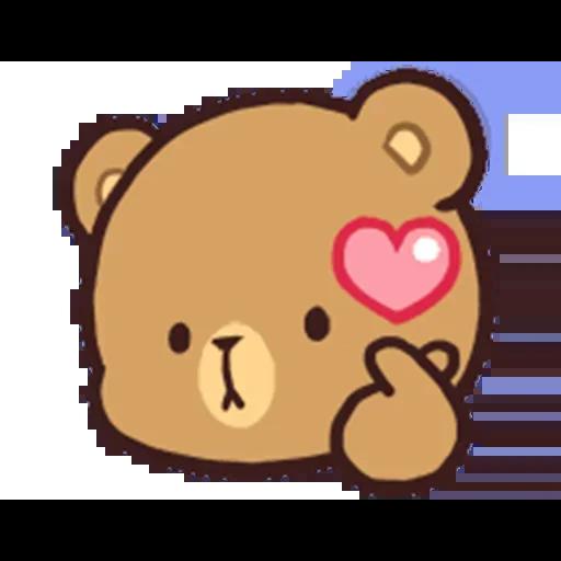 MilkNMocha emotion - Sticker 11