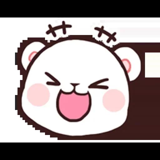 MilkNMocha emotion - Sticker 3