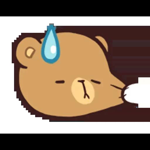 MilkNMocha emotion - Sticker 19