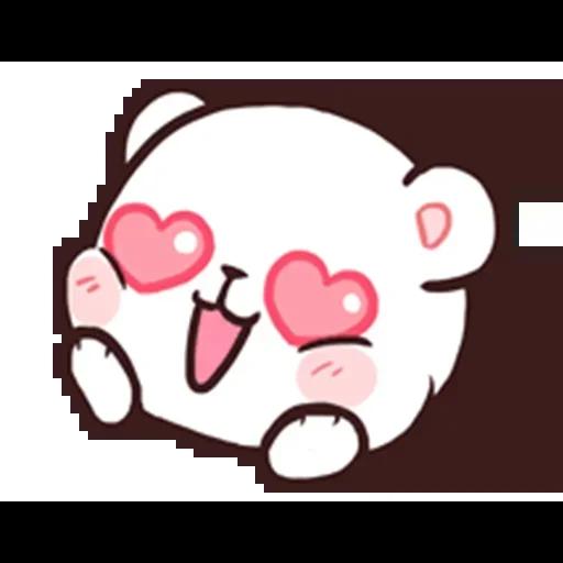 MilkNMocha emotion - Sticker 4