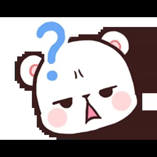 MilkNMocha emotion - Sticker 7