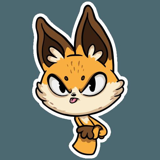 Crimean Foxes - Sticker 10