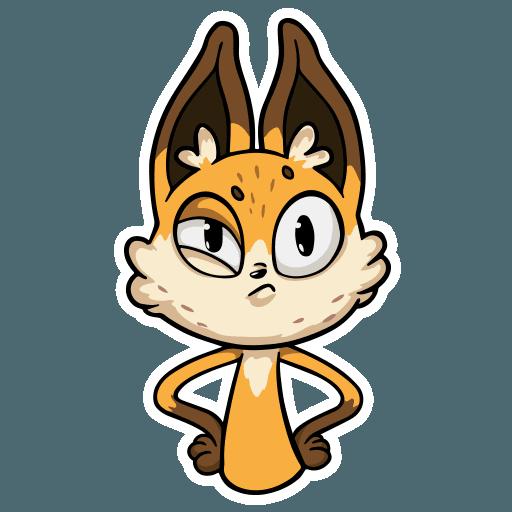 Crimean Foxes - Sticker 17