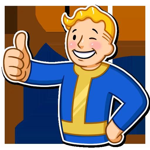 Fallout - Sticker 3