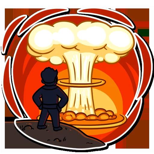 Fallout - Sticker 7