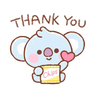 BT21 - Tray Sticker