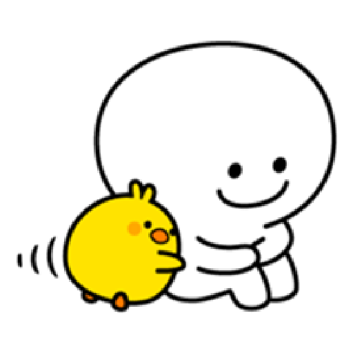 Plump Little Chick 1 - Sticker 17
