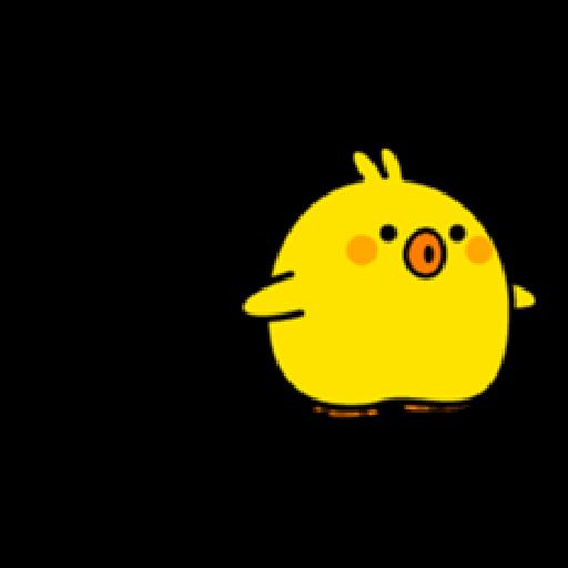 Plump Little Chick 1 - Sticker 20