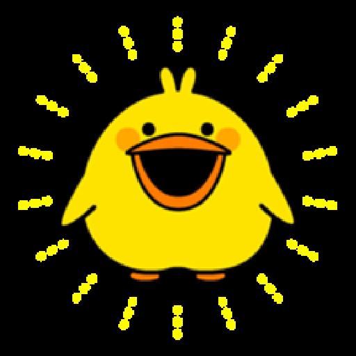 Plump Little Chick 1 - Sticker 30
