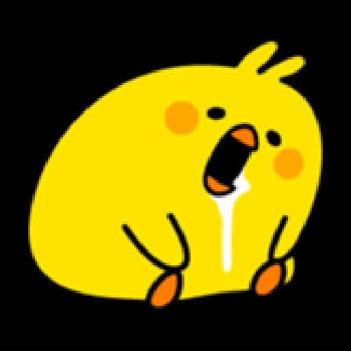 Plump Little Chick 1 - Sticker 23