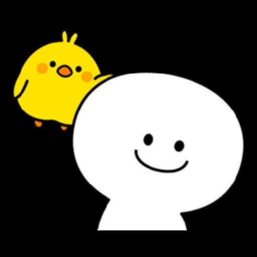 Plump Little Chick 1 - Sticker 26