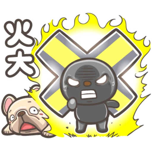 OPEN小將X法鬥皮古(2) - Tray Sticker