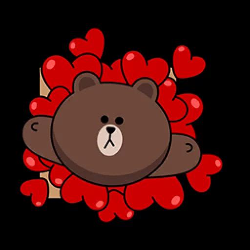 Brown - Sticker 26