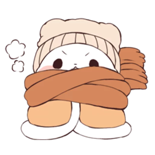 Yururinpanda_Winter - Sticker 7