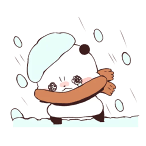 Yururinpanda_Winter - Sticker 6
