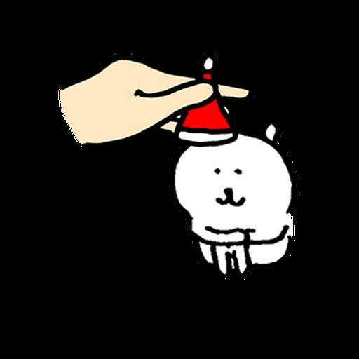 joke bear winter move - Sticker 15