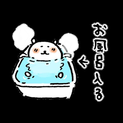 joke bear winter move - Sticker 12