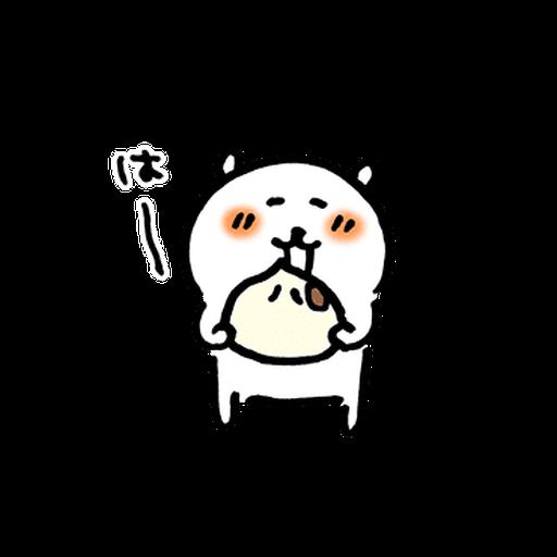 joke bear winter move - Sticker 19