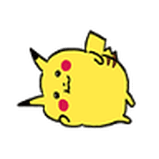 7 Pokemon - Tray Sticker